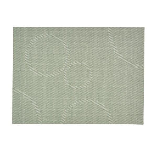 Prestieranie s kruhmi, svetlo zelené 40x30 cm