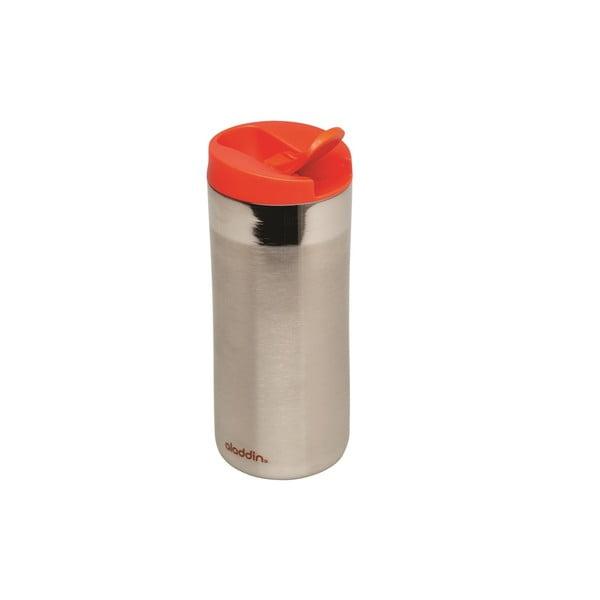 Antikoro termohrnček s červeným viečkom Aladdin Flip-Seal ™, 350ml