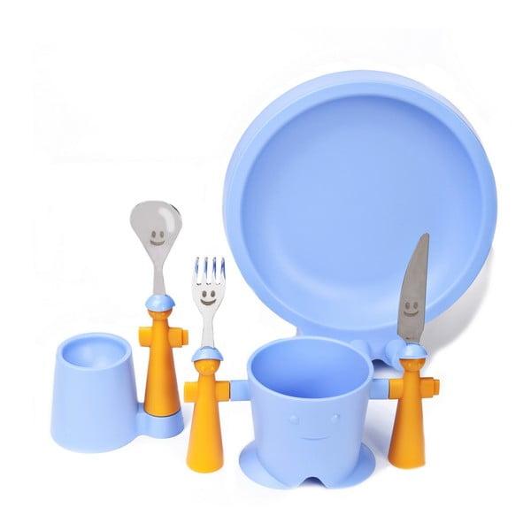 Set detského riadu Trebimbi Blue, 6 ks