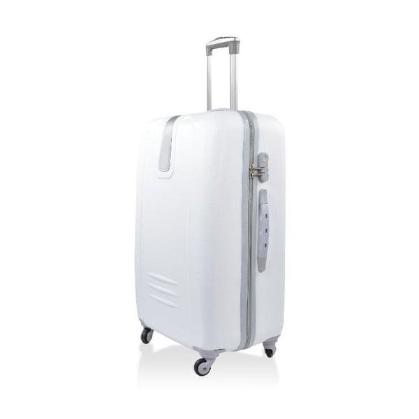 Set 3 cestovných kufrov Hero White