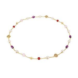Dámsky náhrdelník zlatej farby Runaway Haiti