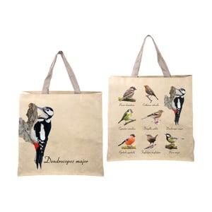 Skladacia taška s potlačou vtáčikov Ego Dekor Birds