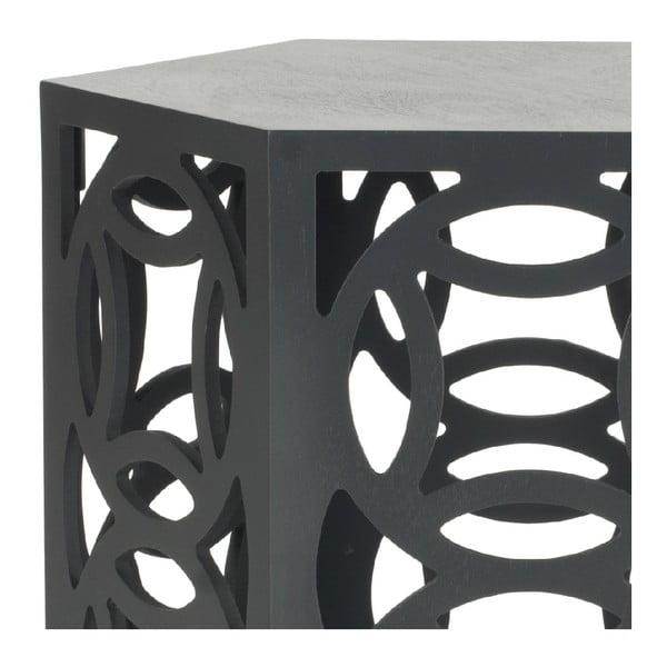 Odkladací stolík Noah, sivý