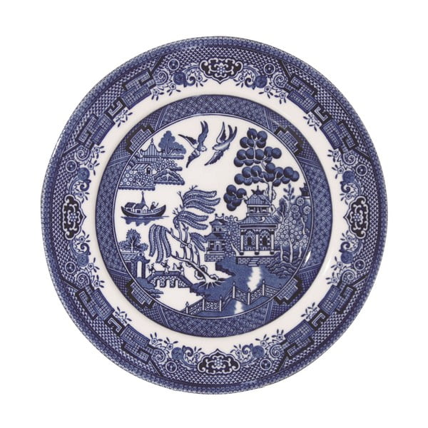 Tanier Churchill China Blue Willow, 17 cm