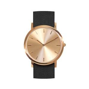 Čierne hodinky Analog Watch Co. Classic