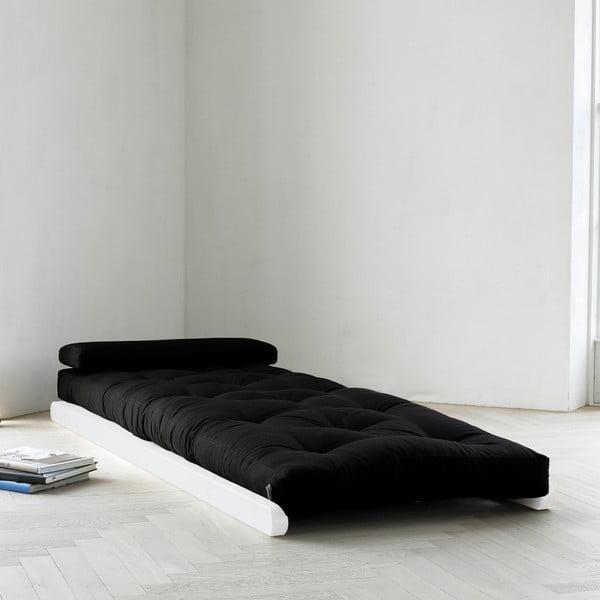 Leňoška Karup Figo, White/Black, 70 cm