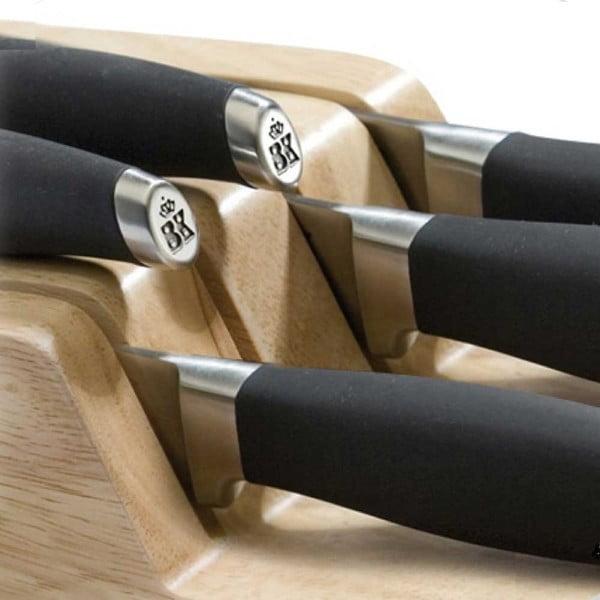 Drevený držiak na nože do zásuvky BK Cookware Skills
