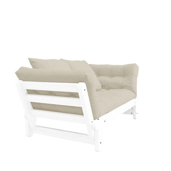 Rozkladacia pohovka Karup Design Beat White/Beige
