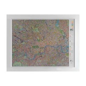 Mapa Londýna The Future Mapping Company Street Map, 130×100cm