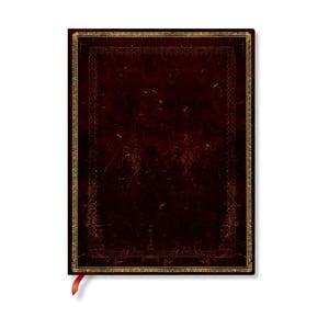 Zápisník s mäkkou väzbou Paperblanks Moroccan, 18 x 23 cm