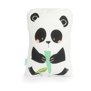 Bavlnený vankúšik Moshi Moshi Panda Gardens, 40 x 30 cm