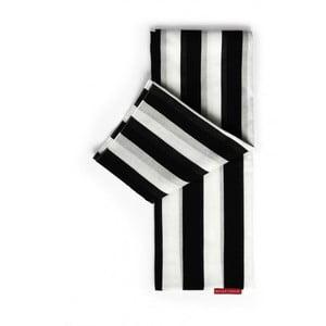 Šatka Remember XL Black & White , 180x105 cm