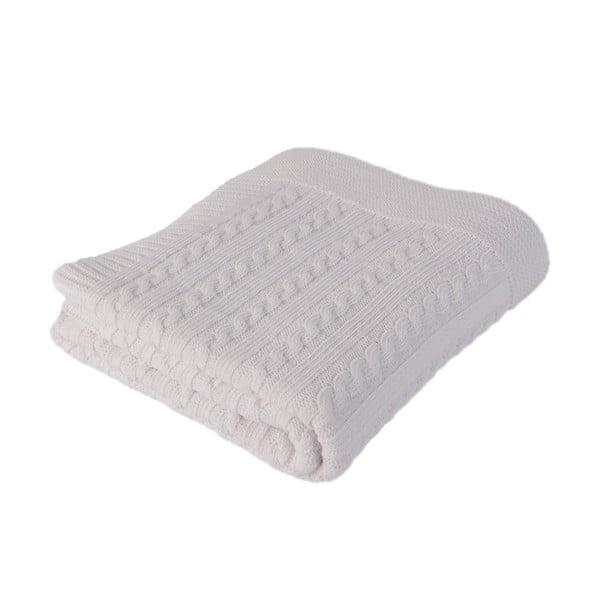 Detská deka Baby White, 90x90 cm