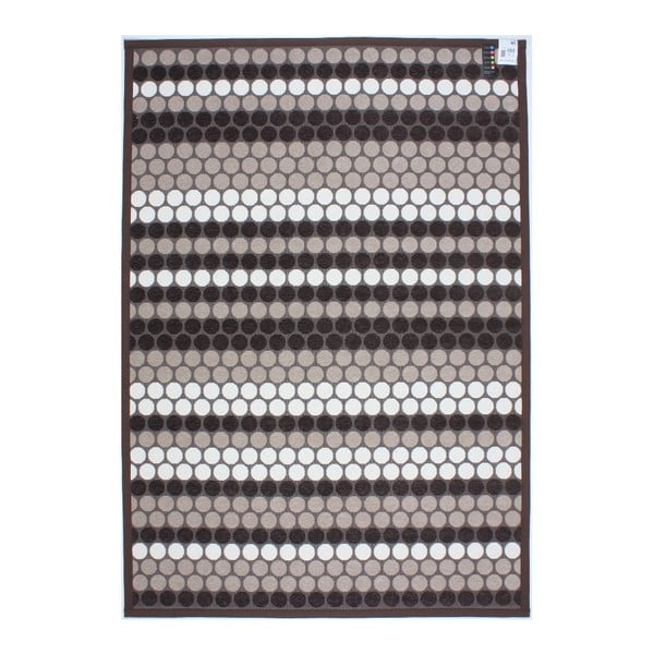 Koberec NW Stripes Brown, 160x230 cm