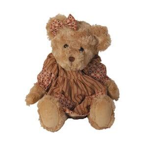 Plyšový medveď v šatôčkach, 38 cm