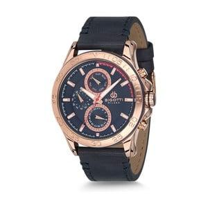 Pánske hodinky s koženým remienkom Bigotti Milano Dandy