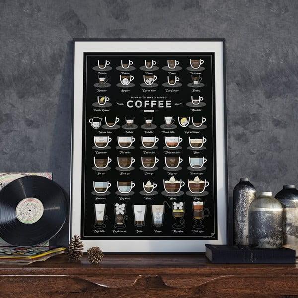 Plagát Follygraph 38 Ways To Make Perfect Coffee, 42x59,4 cm