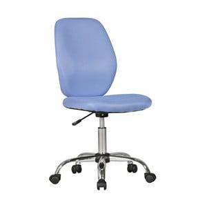 Modrá detská stolička na kolieskach Skyport Amstyle Emma