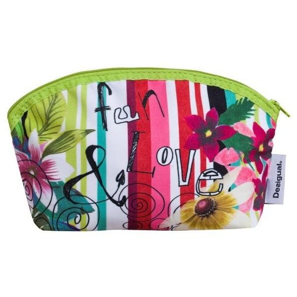 Kozmetická taška DESIGUAL Jungle Verde