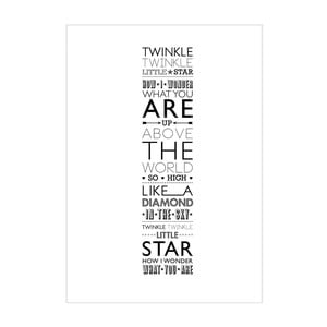 Plagát Twinkle, Twinkle, Little Star