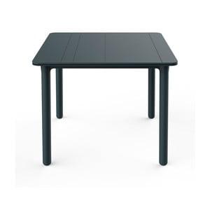 Tmavosivý záhradný stôl Resol NOA, 90x90cm