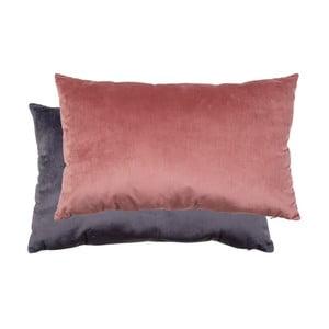 Sada ružového a sivého vankúša so zamatovým poťahom House Nordic Braga, 40 × 60 cm