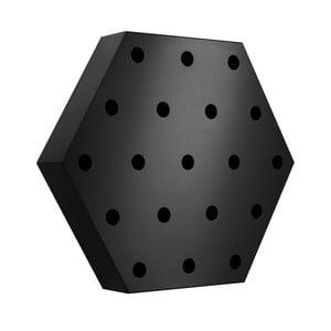 Stojan na víno Hexagon Maxi, čierny
