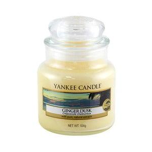 Vonná sviečka Yankee Candle Zázvorový Súmrak, doba horenia 25 - 40 hodín