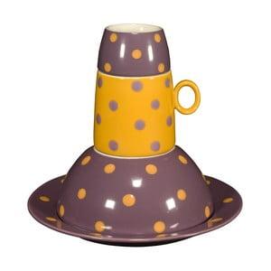 Detská porcelánové sada Ramponi Baby Lilac