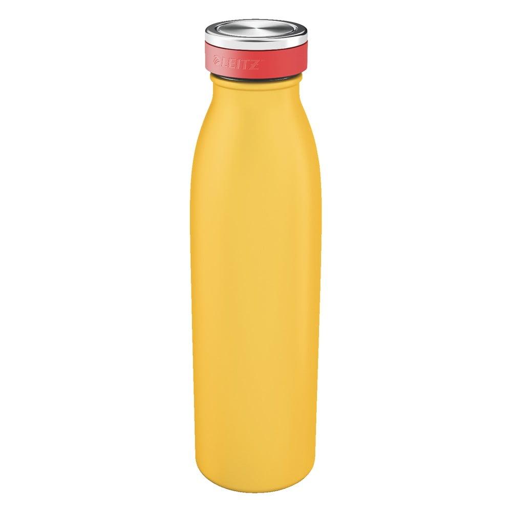 Žltá fľaša na vodu Leitz Cosy, objem 0,5 l