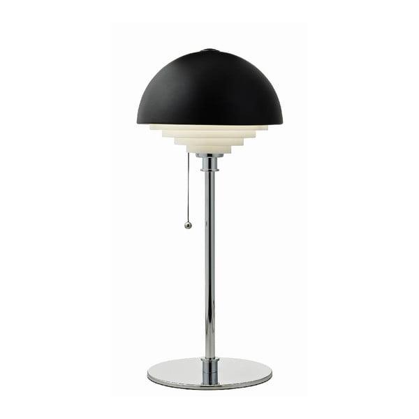 Čierna stolová lampa Herstal Motown