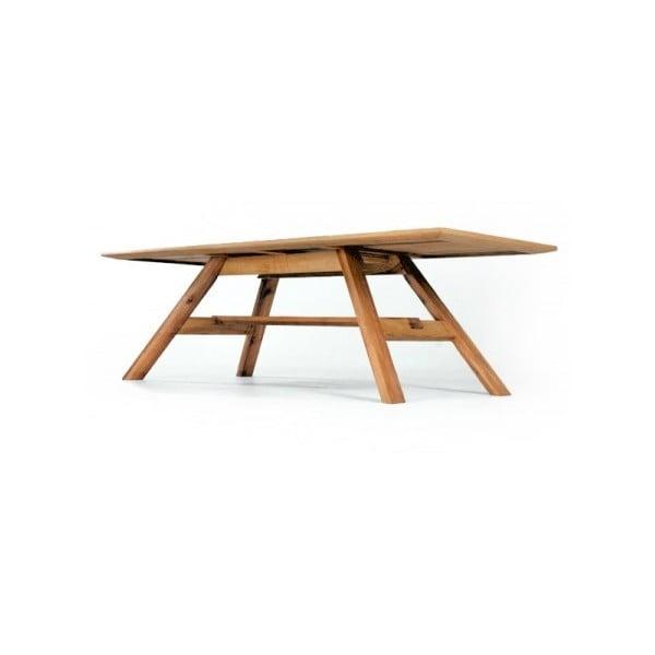 Jedálenský stôl z jelšového dreva Mazzivo Linia 32,1, 200 x 100 cm