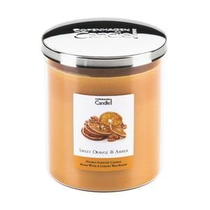Aróma sviečka Sweet Orange & Amber, doba horenia 70 hodín