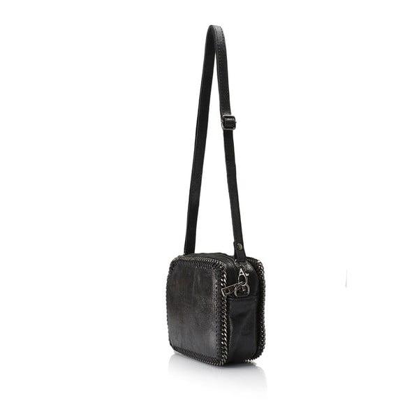 Kožená kabelka Markese 113 Black