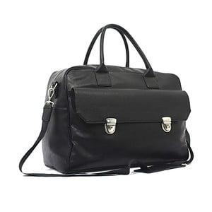 Cestovná taška Bobby Black - Black, 45x33 cm