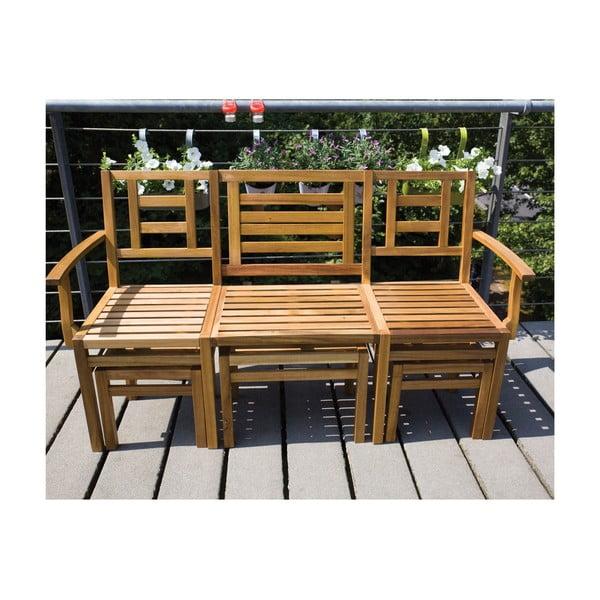 Súprava dreveného nábytku Chat