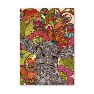Autorský plagát Arabella and the Flowers od Valentiny Ramos