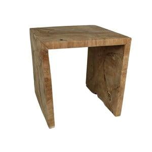 Stolička z teakového dreva HSM Collection U