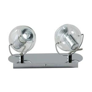 Stropné svietidlo ETH Vetro Silver Duo