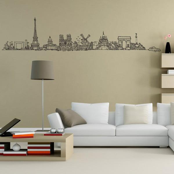 Samolepka All Paris, 57x248 cm