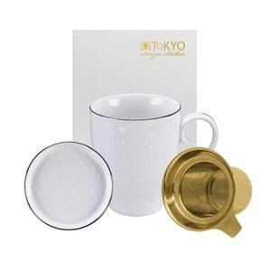 Biely set na čaj Tokyo Design Studio Nippon Star, 380 ml