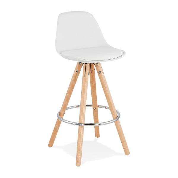 Biela barová stolička Kokoon Anau, výška 64 cm