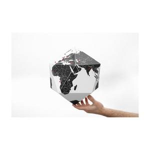 Čierny skladací glóbus Palomar Here, 30cm