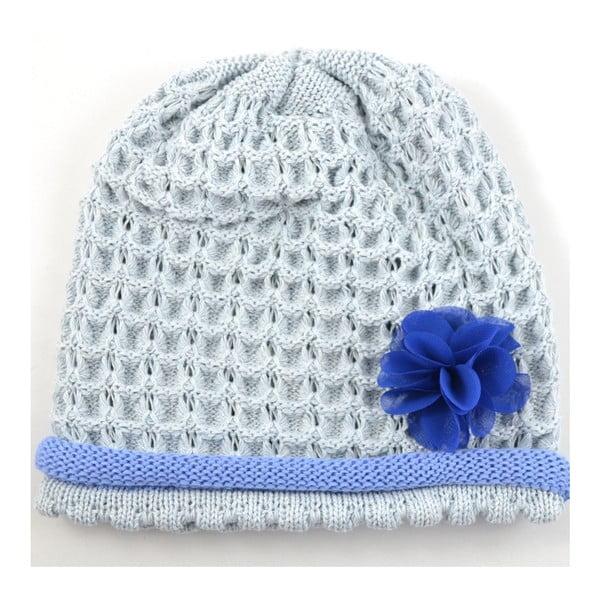 Dievčenská čapica Rulon, modrá