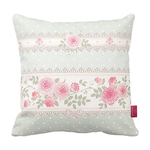 Vankúš Homemania Vintage Pink Roses, 43 x 43 cm