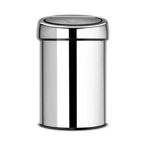 Odpadkový kôš Brabantia Touch Bin Silverino, 3l