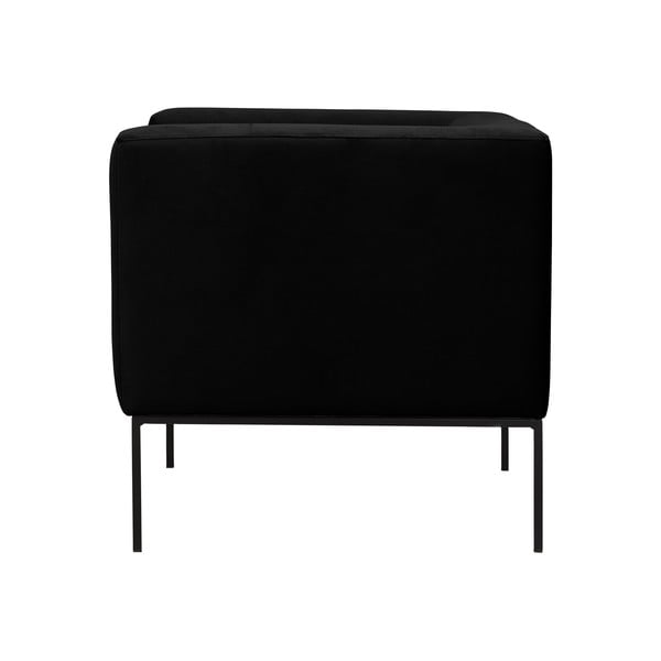 Čierne kreslo Windsor & Co Sofas Neptune