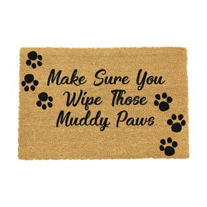 Rohožka Artsy Doormats Wipe Your Paws, 90 × 60 cm