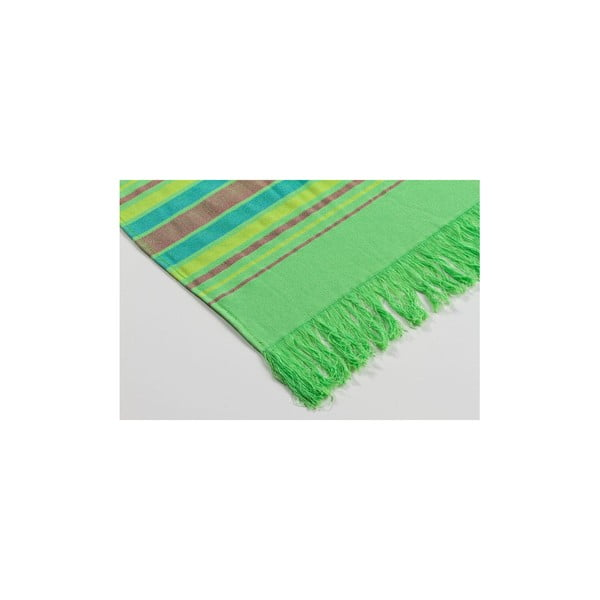 Hamam osuška Cotton Loincloth Green Two, 75x170 cm
