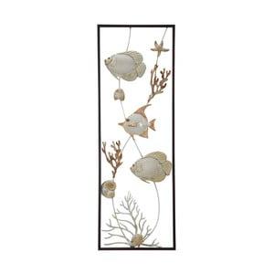 Kovová nástenná dekorácia Mauro Ferreti Fish, 90 cm
